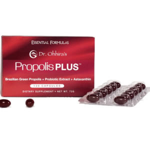 Dr. Ohhira's Propolis Plus - 120 cap - Click Image to Close