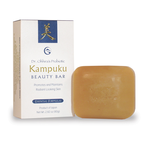 Dr. Ohhira's Probiotic Kampuku Soap (80 gram bar) - Click Image to Close